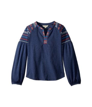 Lucky Brand Kids - Tessa Embroidered Top