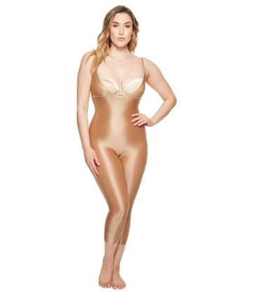 Spanx - Plus Size Suit Your Fancy Open-bust Catsuit