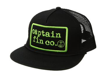 Captain Fin - Type Patch 5 Panel Hat