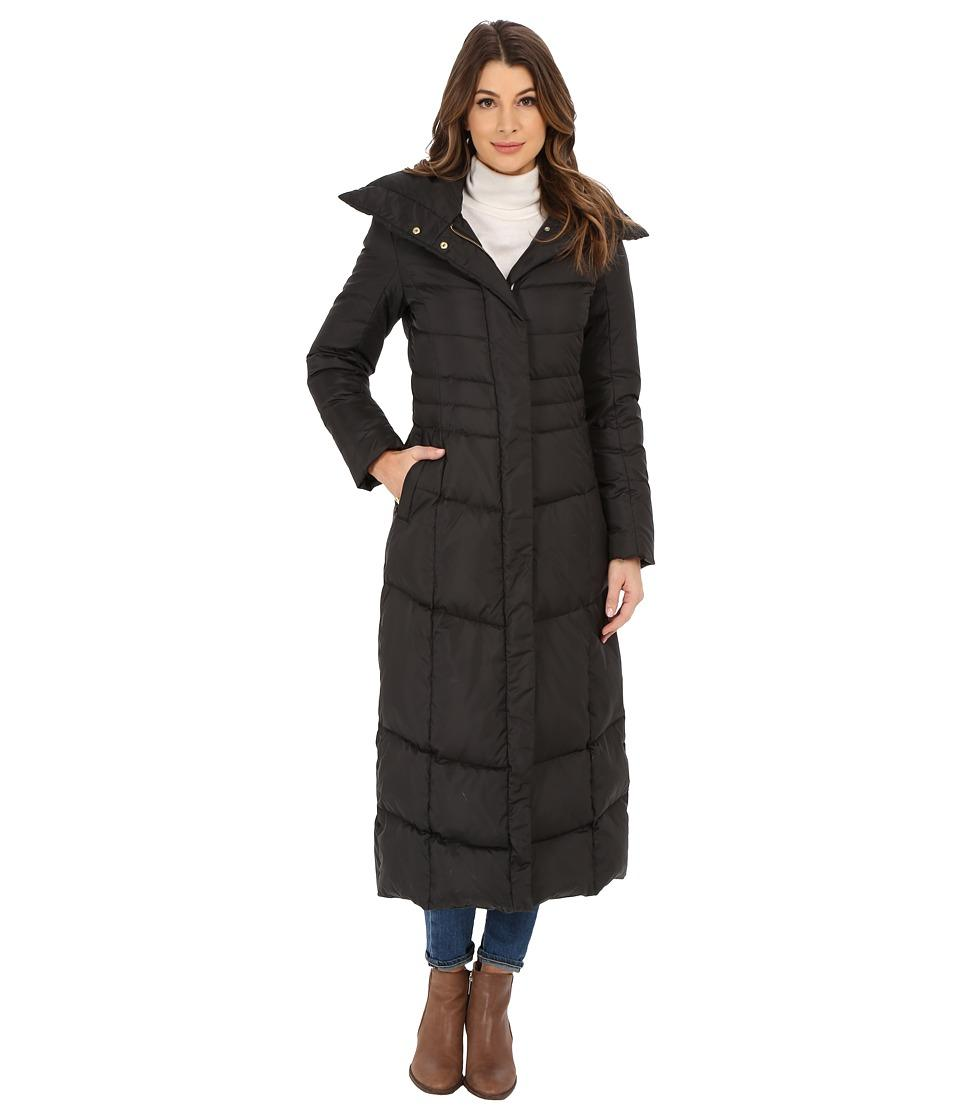 Cole Haan Maxi Down Coat With Oversized Collar Lookmazing