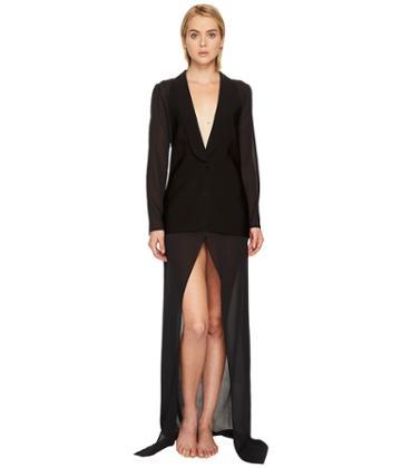 La Perla - Lace Frills In Out Blazer Robe