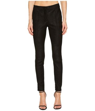 Yigal Azrou  L - Snakeskin Embossed Leather Pants