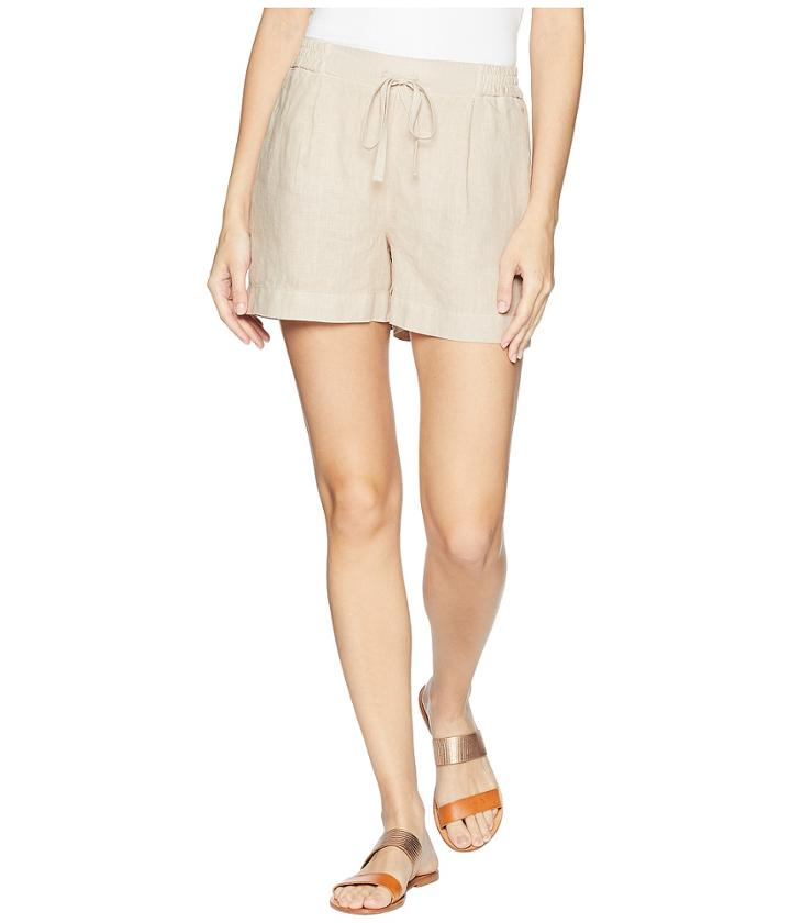 Three Dots - Cambria Linen Shorts