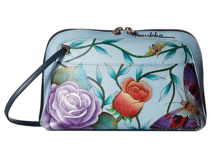 Anuschka Handbags - 349 Small Multi Compartment All-round Zip