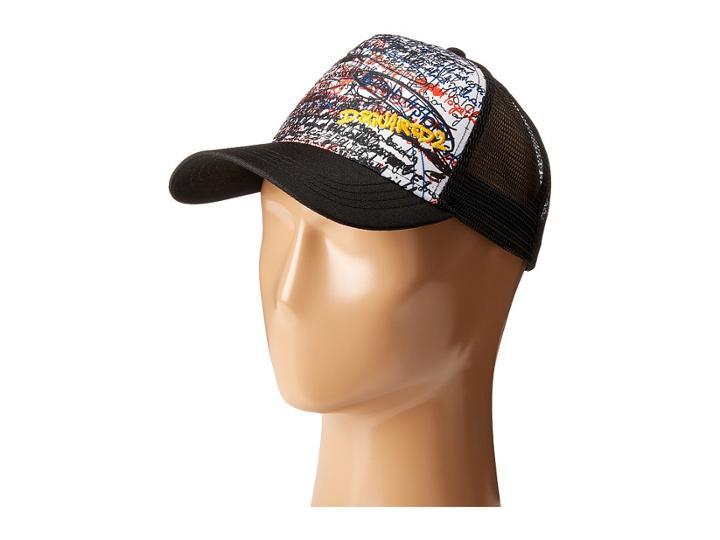 Dsquared2 - Graffiti Baseball Cap