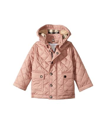 Burberry Kids - Jamie Quilted Jacket