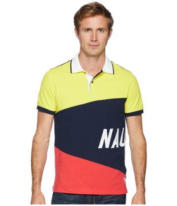 Nautica - Short Sleeve Sail Flag Polo