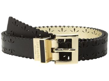 Kate Spade New York - 1 Saffiano Perforated Reversible Belt