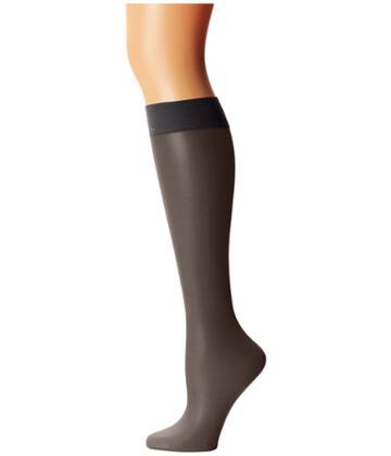 Calvin Klein - Matte Ultra Sheer Knee Hi W/ Comfort Top