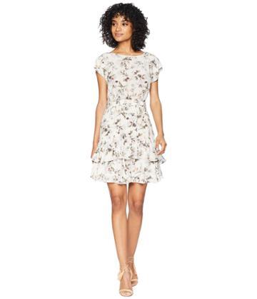Rebecca Taylor - Short Sleeve Sofia Silk Dress