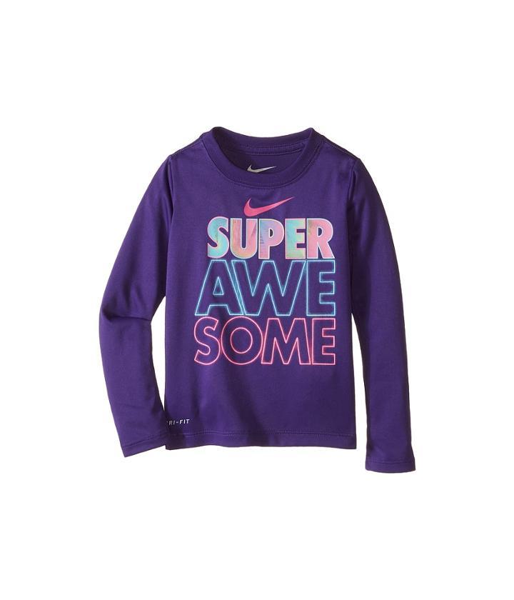 Nike Kids - Super Awesome Long Sleeve Tee