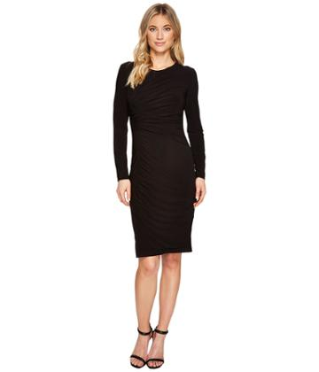 Adrianna Papell - Matte Jersey Gathered Sheath