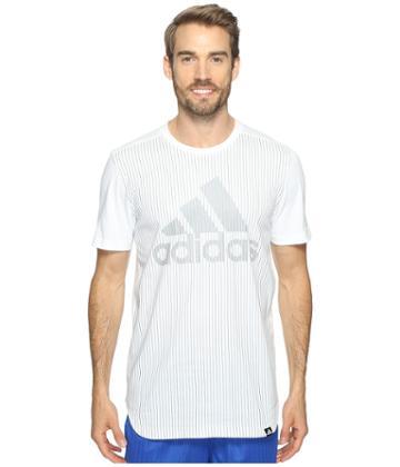 Adidas - Pinstripe Adidas Tee