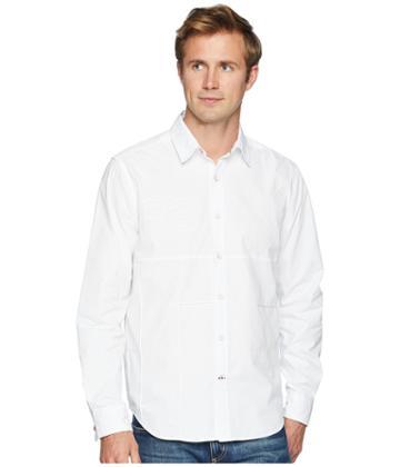 Nautica - Long Sleeve Pieced Woven Shirt