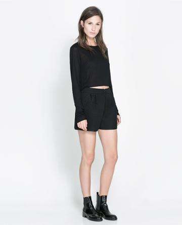 Zara Quilted Shorts