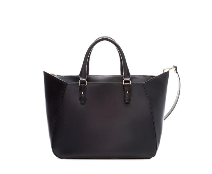 Zara Shopper Bag With Strap