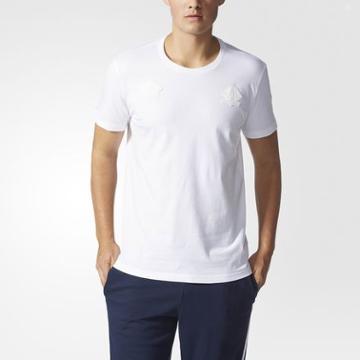 Adidas Badge Tee White