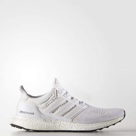 Adidas Ultra Boost Shoes Running White Ftw