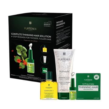 B-glowing Complete Thinning Hair Solution 4-step Kit - Progressive, Hereditary
