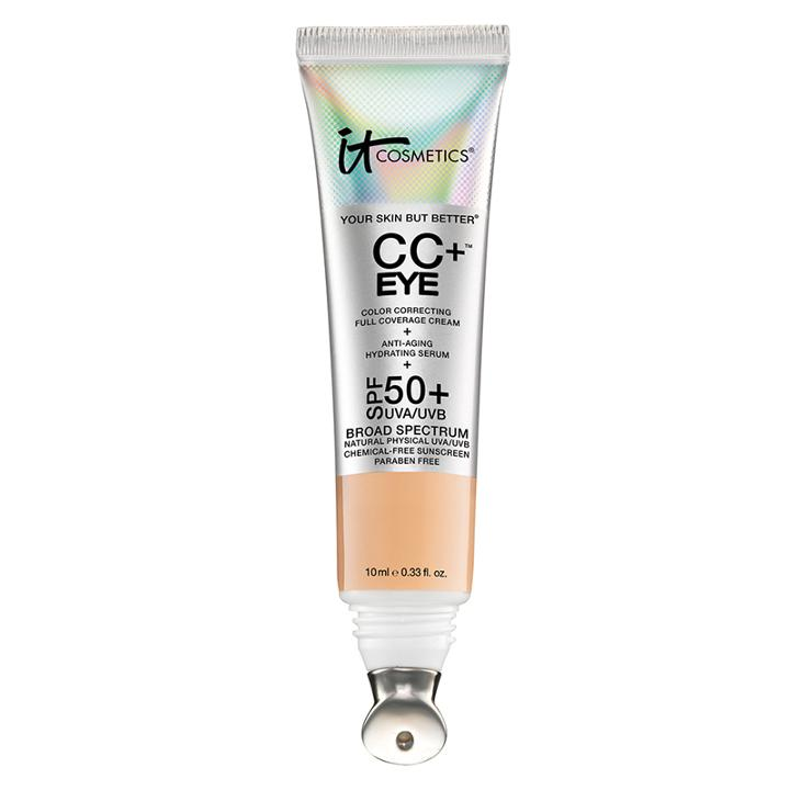 It Cosmetics Cc+ Eye Color Correcting Full Coverage Cream - Light
