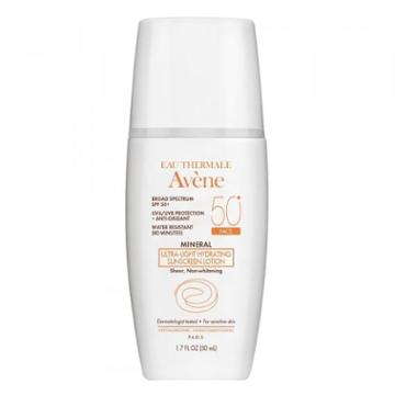 Avene Mineral Ultra-light Hydrating Sunscreen Lotion Spf 50+