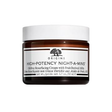 B-glowing High-potency Night-a-mins™ Oil-free Resurfacing Cream With Fruit-derived Ahas