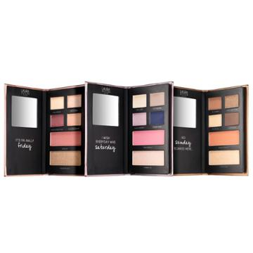 B-glowing The Weekender Face, Eye & Cheek Palettes - Limited Edition