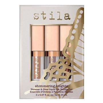 B-glowing Shimmering Heights Shimmer & Glow Liquid Eye Shadow Set - Limited Edition ($36 Value)