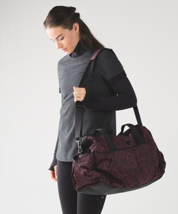 Lululemon All Day Duffel *heatproof Pocket