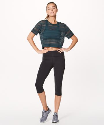Lululemon Sweat Your Heart Out Short Sleeve